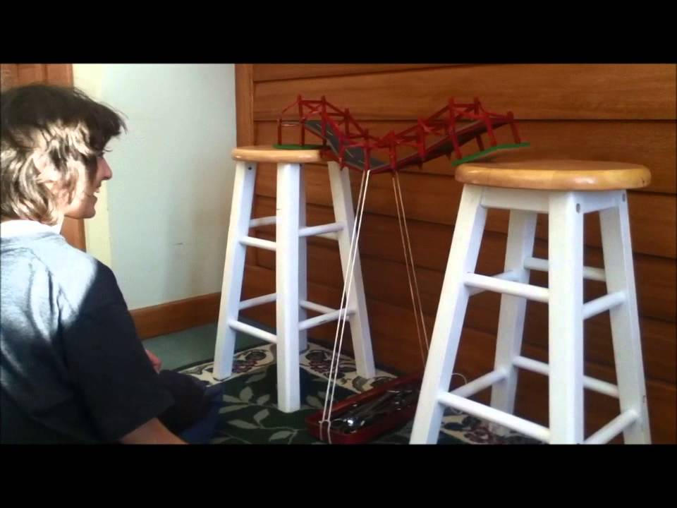 Pratt Truss Toothpick Bridge Howe Truss vs Pratt Truss