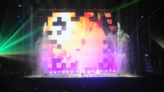 "Laser Kinetics performance at ""Music Moscow"" 2010"