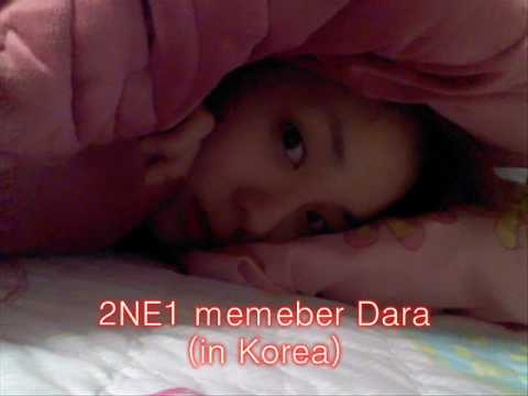 Dara ( Childhood - now ) 2NE1 Korean idol group Music Videos