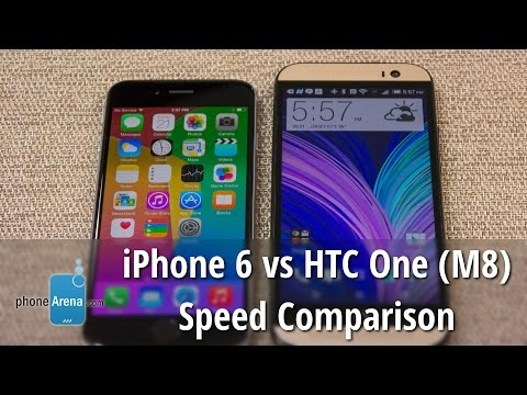 iPhone 6 vs HTC One (M8) speed comparison: which is faster?