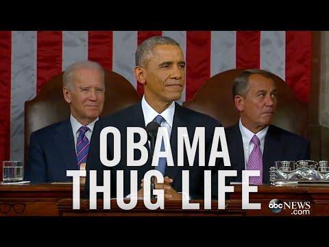 OBAMA THUG LIFE - 2015 STATE OF THE UNION