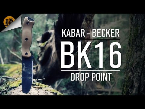Kabar - Becker BK16 Drop Point Survival Knife Review