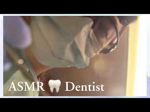 ASMR Dental Visit w/ Fillings and Deep Cleaning Roleplay