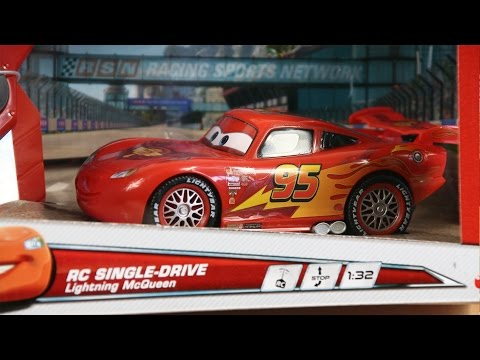 Samochód Sterowany Zygzak McQueen - Cars 2 / Auta 2 - Dickie - www.MegaDyskont.pl