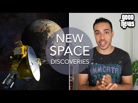 New Space Discoveries, Pluto Pictures & Worlds Rarest Diamond