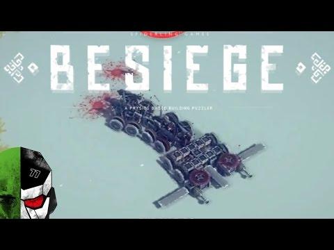BESIEGE — U. F. O. Attack Drone & DeathCrawler — E02 | Docm77