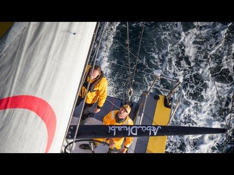 Fixing the Main | Volvo Ocean Race 2014-15