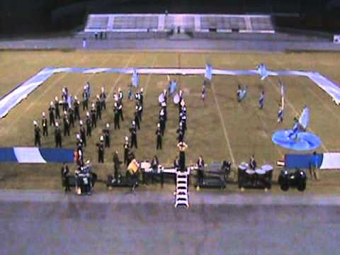 Pulaski County High School Marching Band at South Laurel Band Competition  October 16, 2010.wmv