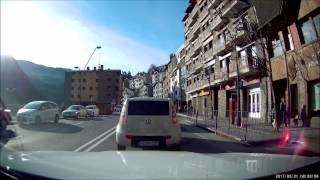 Mercedes Benz Active Brake Assist in Action (GLC)