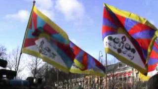 བོད་TIBET PROTEST IN NORWAY