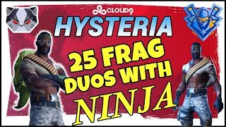 Hysteria | Fortnite Battle Royale -  Duos with Ninja - The Band is Back Together