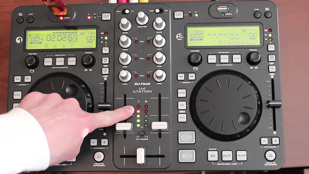 dj Tech i Mix Mkii Virtual dj Dj-tech u2 Station Mkii