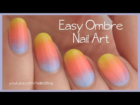 Home Design Interior Singapore Easy Summer Ombre Nail Polish Cute