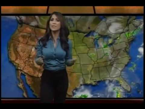 2 Jackie Guerrido weathercasts, 2 hot a$$ outfits...... Video