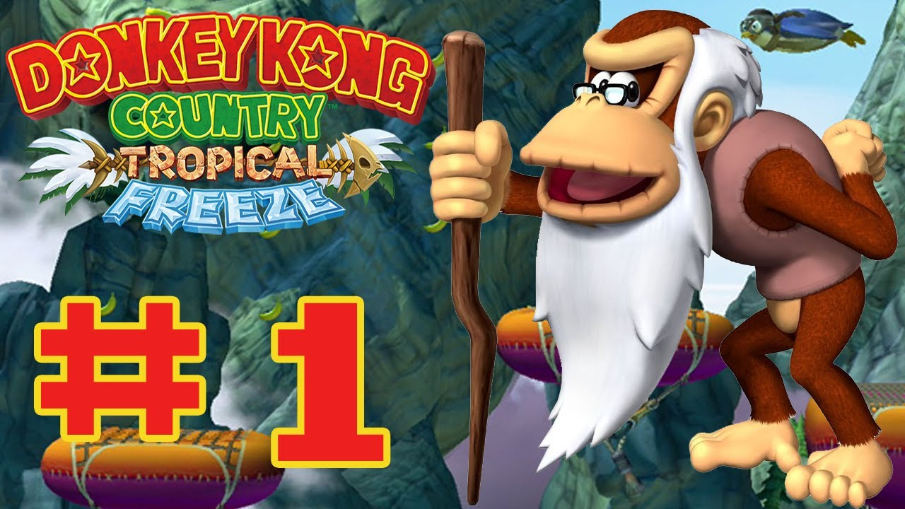 Donkey kong country tropical freeze ba boom - photo#15