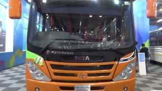 Tata Motors Marcopolo Starbus Urban Articulated Bus at Bus & Special Vehicle Show
