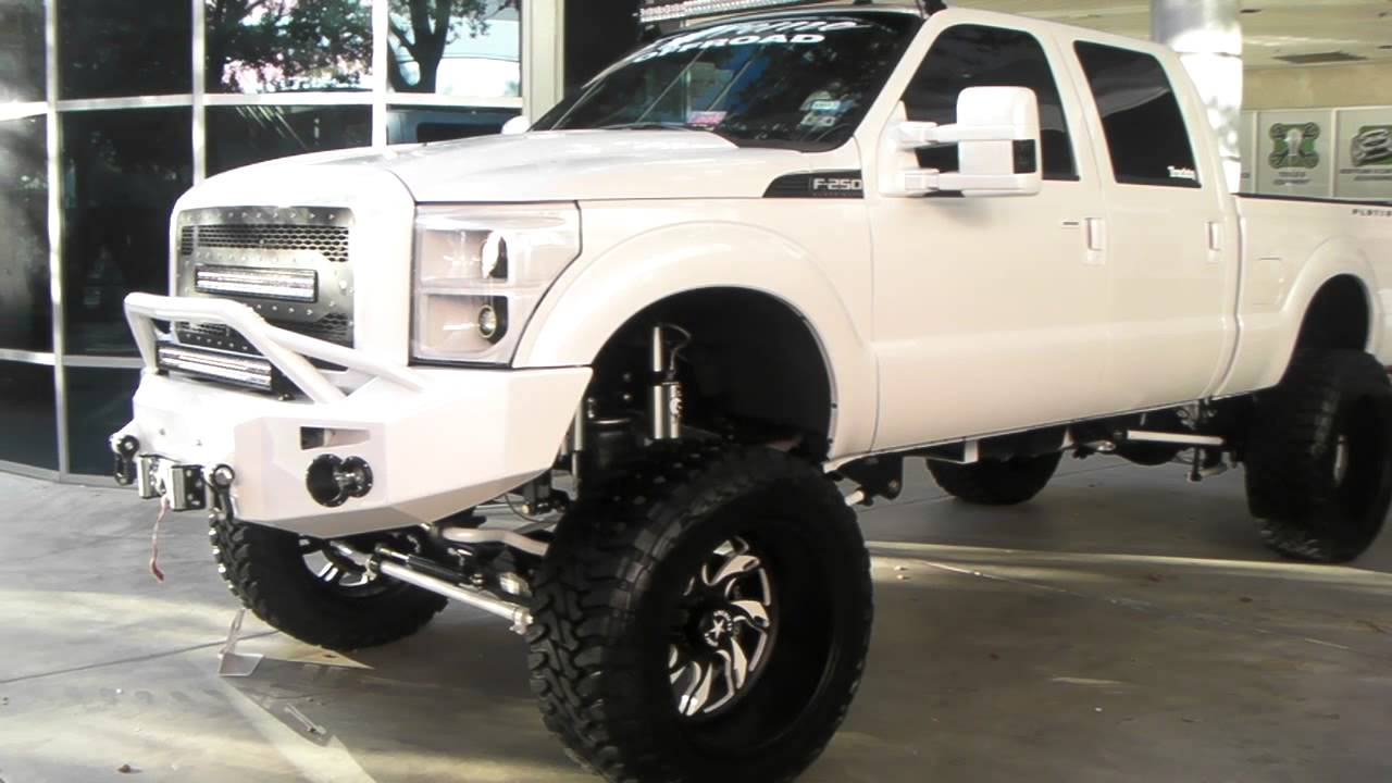 White Wheels on White Truck White Painted Truck Wheels