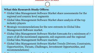 Idea Management Software Market by Technology Advancement and Future Outlook 2019 to 2025