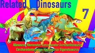 DINOSAUR Box 7 TOY COLLECTION Related DINOSAURS Jurassic ไดโนเสาร์  Toy Review  SuperFunReviews