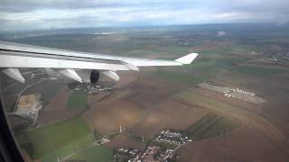 AF3510:Takeoff with Air France A340-300 F-GLZS from Paris-CDG from RWY27L bound for St Maarten