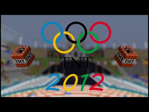 Minecraft: TNT 2012 Olympics - SWIMMING TESTIFICATES!