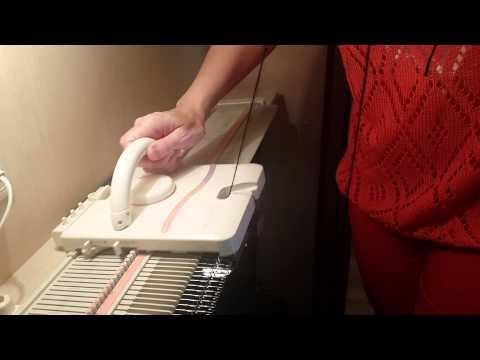 Обучение вязанию на машинах вязальных машин 321