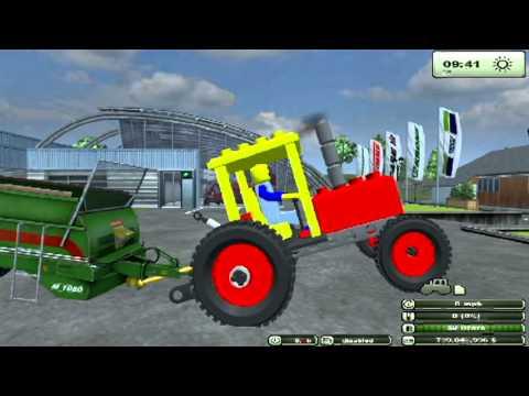 Farming simulator 2013 mods Lego tractor