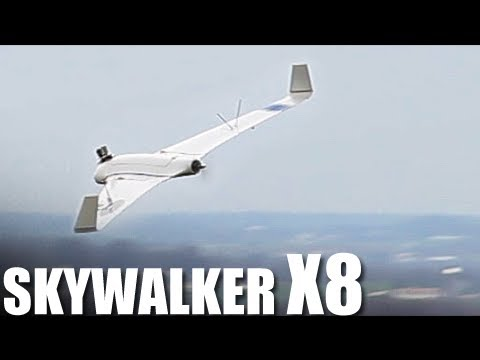 Flite Test - Skywalker X8 - REVIEW