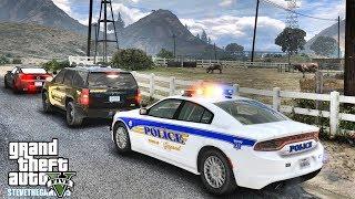 GTA 5 MODS LSPDFR 0.4.2 - EP 23 -  BLAINE COUNTY PATROL!!! (GTA 5 REAL LIFE PC MOD)