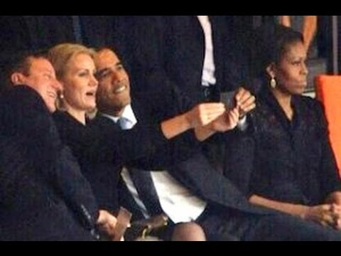 Obama Selfie Controversy (Update - Photographer Speaks Out About Michelle)