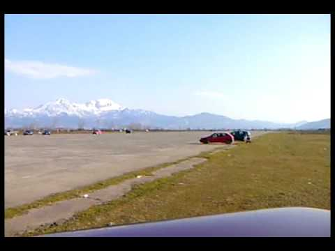 Gara  Ne  Gjader(shkurt 2009). Race Cars In  Gjader-lezhe video