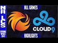 Phoenix 1 vs Cloud 9 Highlights All Games - NA LCS W5D3 Spring 2017 - P1 vs C9 All Games