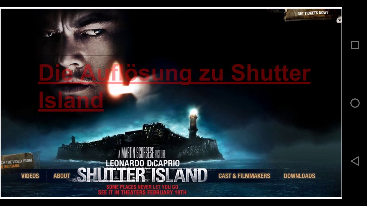 Shutter Island  Official Trailer HD  YouTube