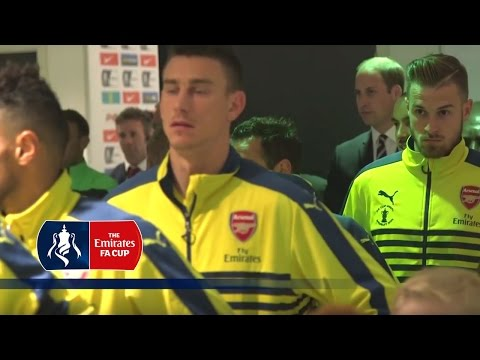 Arsenal v Aston Villa (2015 FA Cup Final) Tunnel Cam | Inside Access