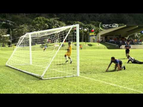 2013 OFC Champions League Preliminary MD1 Kiwi FC vs Paga Youth FC Highlights