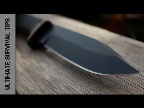 NEW - Cold Steel SRK Survival / Rescue Knife - REVIEW - Best Survival Knife under $90?