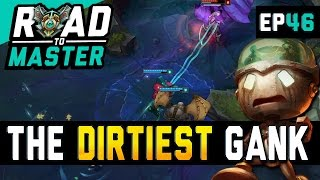 THE DIRTIEST GANK - Amumu Road to Master Ep 46 (League of Legends)