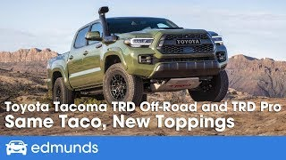 2020 Toyota Tacoma TRD Off-Road and TRD Pro ― Off-Road Drive & Review