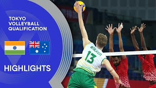 India vs. Australia - Highlights | AVC Men's Tokyo Volleyball Qualification 2020