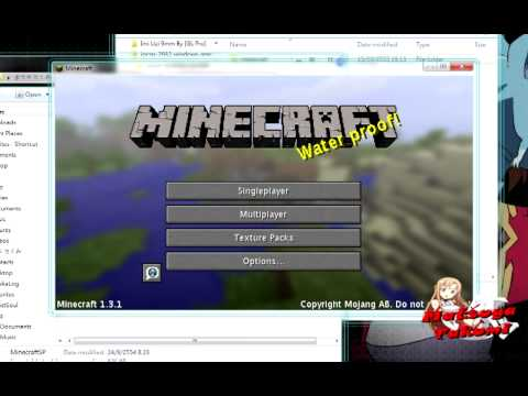 สอนการลง Mod Minecraft Sword Art Online [HD]