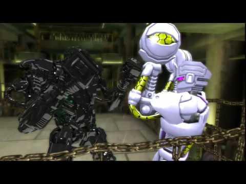 Живая сталь-Зевс получает по полной(часть 6)