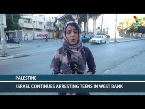 Palestine: Israel Continues Arresting Teens in the West Bank
