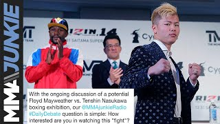 Daily Debate: Will you be watching Floyd Mayweather vs. Tenshin Nasukawa?