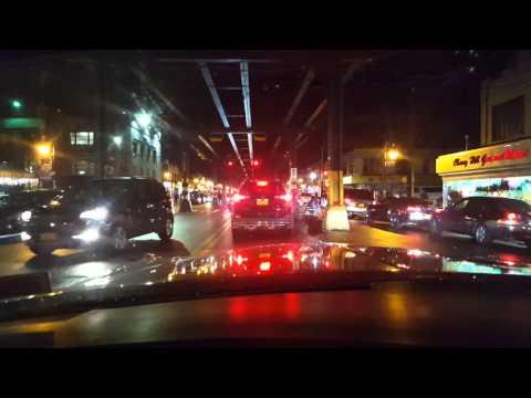Cruising 86th street Brooklyn  in a 71 Fleetwood B