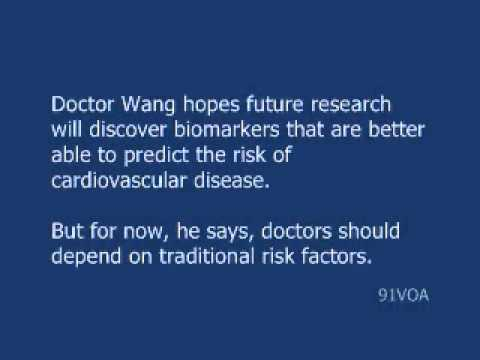[91VOA]Biomarkers Show Little Help in Predicting Heart Disease
