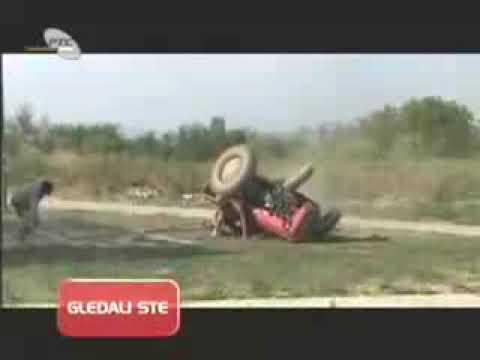 48 sati svadba - traktor se prevrnuo