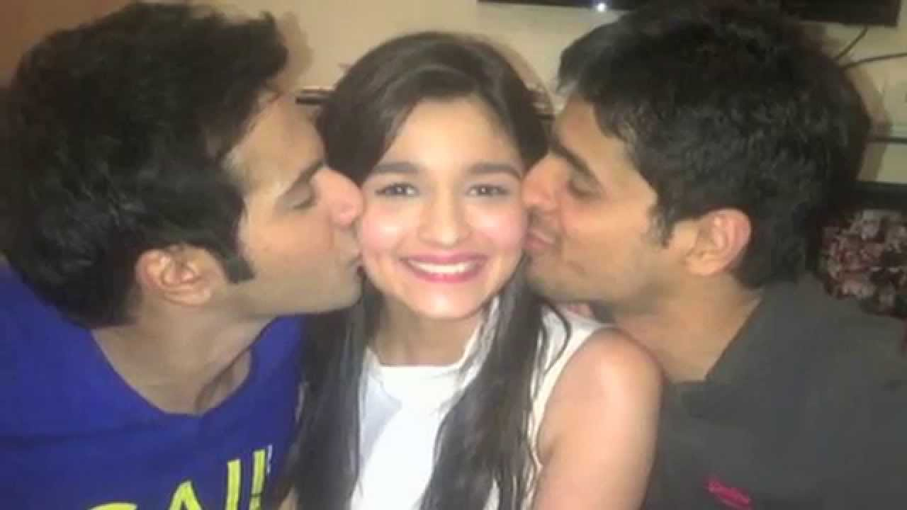 Varun Dhawan And Siddharth Malhotra Alia Bhatt  Varun Dhawan And