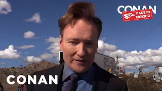 Behind The Scenes Of The #ConanMexico Cold Open  - CONAN on TBS