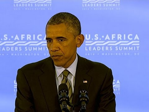 Obama Urges Cease Fire for Gaza; Help With Ebola