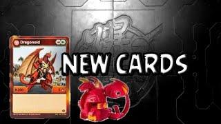 NEW BAKUGAN CARDS!!!!?? ,Bakugan battle planet--Darphyros Bakugan--